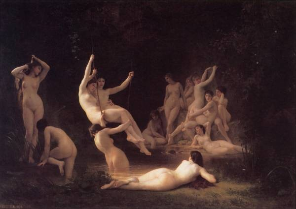 Bouguereau The Nymphaeum